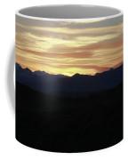 Grand Teton Landscape Sunset Coffee Mug
