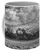 Grand Teton Majesty Coffee Mug by Sandra Bronstein