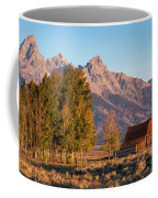 Grand Teton Mountain View Coffee Mug