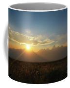 Grand Teton Open Plains Sunset Coffee Mug