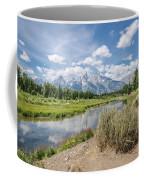 Grand Teton View No.1 Coffee Mug by Margaret Pitcher