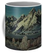 Grand Teton Winter Coffee Mug