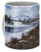 Grand Tetons From Oxbow Bend Coffee Mug