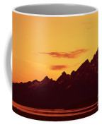 Grand Tetons Sunset Coffee Mug