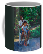 Grandfather And Child Coffee Mug