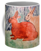 Grandma's Bunnies Coffee Mug