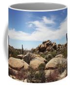 Granite Boulders And Saguaros  Coffee Mug