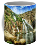 Granite Mountain Waterfall - Vintage Version Coffee Mug