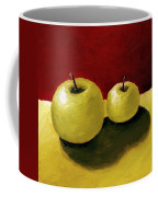 Granny Smith Apples Coffee Mug by Michelle Calkins