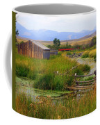 Grant Khors Ranch Deer Lodge  Mt Coffee Mug