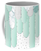 Graphic Art Feathers Wild And Free Spirit - Mint Coffee Mug