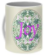 Graphic Designs Button Joy Coffee Mug
