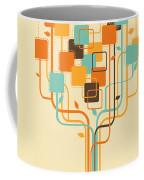 Graphic Tree Coffee Mug by Setsiri Silapasuwanchai