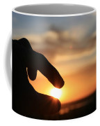 Grasping The Moment Coffee Mug