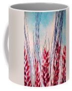 Grass Abstract Coffee Mug