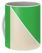 Grass And Sand Geometric Coffee Mug