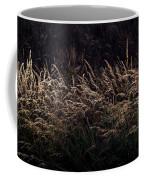 Grass At Sunset Coffee Mug