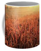 Grass Dyed In The Morning Glow Coffee Mug