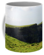 Grass Fields Surrounding The Cliff's Of Moher Coffee Mug