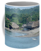 Grass Huts Colombia Coffee Mug