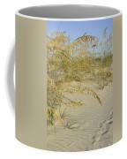 Grass On The Beach Sand Coffee Mug