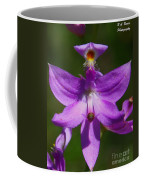Grass Pink Orchid Coffee Mug