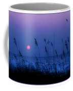 Grasses Frame The Setting Sun In Florida Coffee Mug