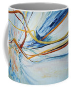 Grasses In The Snow Coffee Mug