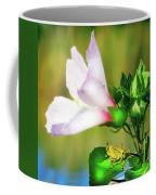 Grasshopper And Flower Coffee Mug