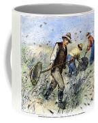 Grasshopper Plague, 1888 Coffee Mug