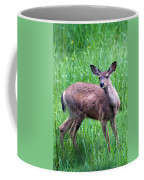 Grassy Doe Coffee Mug