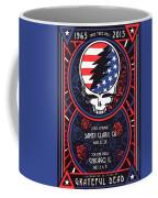 Grateful Dead Santa Clara Ca Coffee Mug