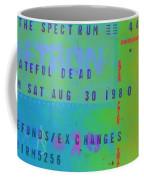 Grateful Dead - Ticket Stub Coffee Mug