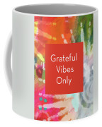 Grateful Vibes Only Journal- Art By Linda Woods Coffee Mug