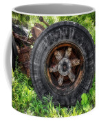 Gravel Pit Goodyear Truck Tire Coffee Mug
