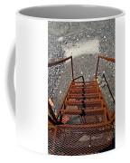 Gravel Pit Grinder Rusty Staircase Coffee Mug