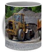 Gravel Pit Loader And Dump Truck 04 Coffee Mug