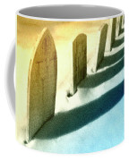 Gravestones In Winter Coffee Mug