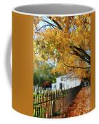 Graveyard In Autumn Coffee Mug