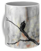 Gray Day Vulture Coffee Mug
