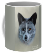 Gray Fox Head Study Coffee Mug