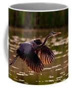 Gray Heron Coffee Mug