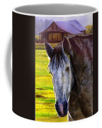 Gray Horse Coffee Mug