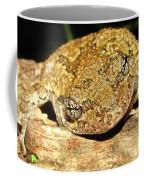 Gray Tree Frog Horizontal Coffee Mug