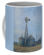 Gray Windmill 2 Coffee Mug