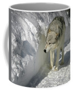 Gray Wolf 7 Coffee Mug