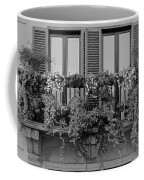 Grayscale Foliage Coffee Mug