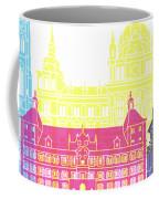 Graz Skyline Pop Coffee Mug