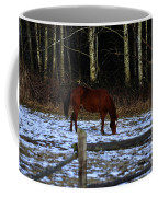 Grazing In A Washington Winter Coffee Mug