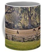 Grazing Ponies Coffee Mug